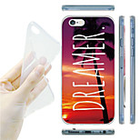 Dreamer Pattern TPU Soft Back Case for iPhone 6