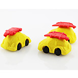 Lovely Summer Holiday Car Detachable Rubber Eraser (Random Color)