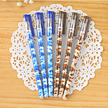 Camouflage Pattern Blue Ink Gel Pen(1 PCS)