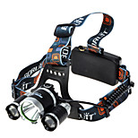 NEW 1800 lumens Lumens Headlamp Straps Super Light LED Cree XM-L T6 Camping/Hiking/Caving