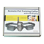 998D 2 dogs Remote Control Shock and Vibration 4 in one Dog Training Collar  Pet Training Collar Pet Trainer