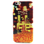 Beautiful Pattern TPU Painted Soft Back Cover for iPhone 6