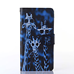 Crazy Deers Pattern PU Leather Full Body Case with Stand for Multiple Sony Xperia Z3/T3