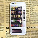 Vending Machine Pattern Painting TPU Soft Back Case for iPhone 6