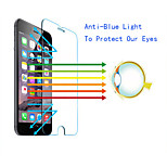 QWD Mobile High Quality Anti-Bluelight Tempered Glass Screen Protector with 0.3mm Thickness 2.5D 9H for iPhone 5