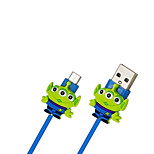 Disney Alien Charging Cable For Samsung S4/S5/S6/S6E