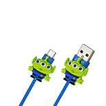 disney alienígena cable de carga para Samsung s4 / s5 / s6 / S6E