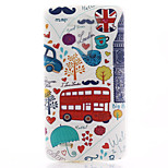 Red Car Pattern TPU Material Soft Phone Case for LG G3