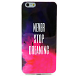 Asuka Pattern TPU Material Phone Case for iPhone 6