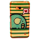 Love elephant  Pattern TPU Soft Case for Nokia Microsoft Lumia 640