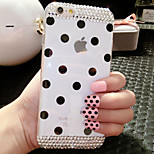 Diamond Wave Point Of Silica Gel Pattern Hard Back Back Case for iPhone5/5S (Assorted Color)