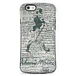 Sherlock Holmes  Pattern PC + TPU Drop Resistance  Phone Shell For iPhone 6