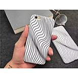 Visual Stripe Interesting Plastic Case for iPhone 6