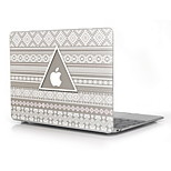 Triangle Design Print Pattern Hard Case for 12