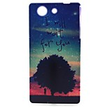 Tree Pattern TPU Material Soft Phone Case for Sony Z3 Mini