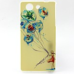 Girl Pattern TPU Material Soft Phone Case for Sony Z3 Mini