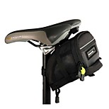 ROSWHEEL Bicycle Saddle Back Seat Tail Seatpost Bag Pouch Velcro Straps for MBT Mountain Bike Outdoor Cycling