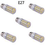 5 stuks E14/G9/E26/E27 15 W 60 SMD 5730 1500 LM Warm wit/Koel wit Maïslampen AC 85-265 V