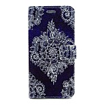 Corners Diamond Pattern PU Leather Material Card Full Body Case for iPhone 6