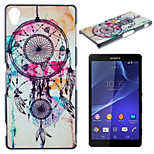 Campanula Pattern Material TPU Soft Phone Case for Sony Xperia Z3
