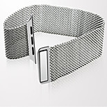 Jdhdl 42mm Stainless Steel With Milanese Loop  for i Watch Band