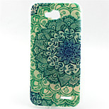 Blue and White   Pattern TPU Soft Back Cover for LG L90