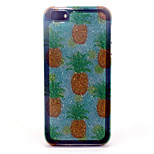 Small pineapple Pattern with shimmering TPU Soft Case for iPhone 5/iPhone 5S