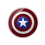 Disney vingadores marvel escudo do Capitão América carregador sem fio para qualquer dispositivo usb especificamente para s6e S6