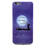 Blowing Bubbles Pattern TPU Material Phone Case for iPhone 6
