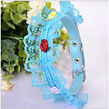 ABPet  Lovely Dog's & Cat's Lace Collar