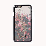 Smile Design Aluminum Hard Case for iPhone 6