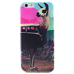 Beautiful Scenery Pattern TPU Painted Soft Back Cover for iPhone 6