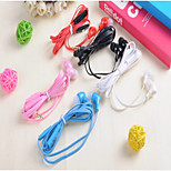 MD-099 Classic 1.0 Headphone 3.5mm In Ear 100cm for iPhone/Samsung/Huawei/Millet/Red Rice/HTC (Assorted Color)