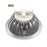 GU10 / G53 / E26/E27 10 W 1 COB 1000-1100LM LM Warm White / Cool White AR111 Spot Lights AC 85-265 V