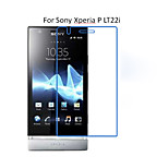 5PCS HD Clear Transparent Screen Protector Film For Sony Xperia P LT22i