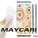 MAYCARI®Cartoon Small Sun Pattern TPU Soft Transparent Back Case for iPhone 6