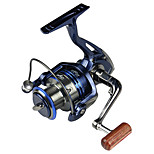 Lake Bait Feeder Spool Aluminum Strong Fishing Reels Saltwater Baitrunner Metal Roll SSV6000