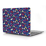 Colorful Flower Design Full-Body Protective Plastic Case for 12
