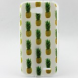 Pineapple Pattern TPU Material Soft Phone Case for LG L90 D405