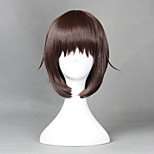 Cosplay Wigs Cosplay Cosplay Brown Short Anime Cosplay Wigs 40 CM Heat Resistant Fiber Male / Female