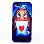 MAYCARI®Pillow Owl Pattern ABS Hard Back Case for iPhone 5/5S
