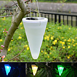 Solar Outdoor Garden Hanging Tree Cornet Cone LED Lights  Landscape Lighting Pathway Stairway