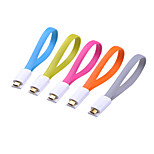 Fonemax Magnet Flat Micro Cable for Samsung/LG/HTC/Xiaomi  (22.5Cm)