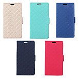 New Style Maze Pattern PU Leather Wallet Card Slot for Microsoft Lumia 640 (Assorted Colors)