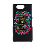 Flower Pattern PC Hard Case for Sony Xperia Z3 Compact/Z3 mini