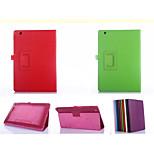 cuoio dell'unità di elaborazione di colori solidi Custodie con supporto completo dei casi il corpo 10.1