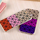 New Three Color Gradient TPU Cases for iPhone 6(Assorted Colors)