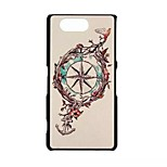 Anchors Pattern PC Material Phone Case for Sony Z3 Mini