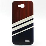 Stripe Pattern TPU Material Soft Phone Case for LG L90 D405