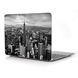 The City in Gray Design Full-Body Protective Plastic Case for 12